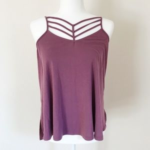 Purple Express One Eleven Strappy Tank Top